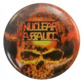 Nuclear Assault - 'Third World Genocide' Button Badge